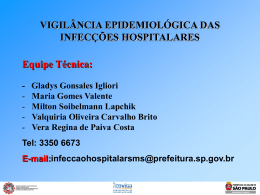 Pneumonia Hospitalar - Prefeitura de São Paulo