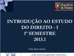 Aula 06 IED - Direito Sempre