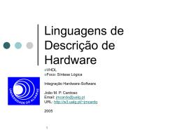 Slides sobre VHDL