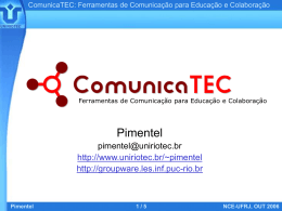 Pimentel NCE-UFRJ, OUT 2006