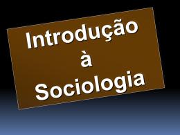 Principais teóricos da Sociologia
