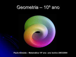 Apresentação do Capítulo Geometria
