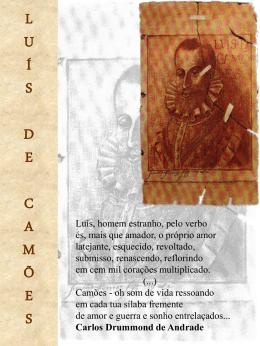 Cartaz - Camões (arquivo do Microsoft PowerPoint 97®