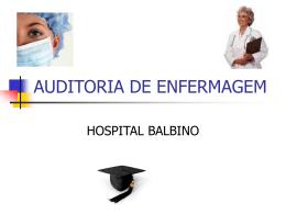AUDITORIA DE ENFERMAGEM