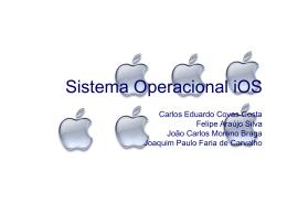 Sistema Operacional iOS