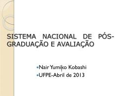 Apresentação Pré-EBBC - Nair Kobashi