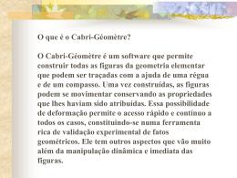 Projeto Cabri