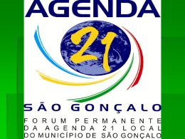 São Gonçalo - Agenda 21 Comperj