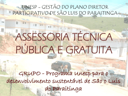 Slide 1 - Acervo Digital da Unesp