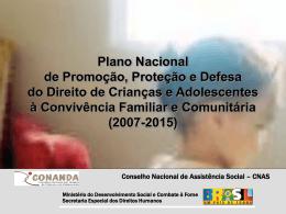 Apresentação do PowerPoint - MINISTÉRIO DO Desenvolvimento