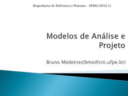 Aula 5 - Modelo de Análise e Projeto
