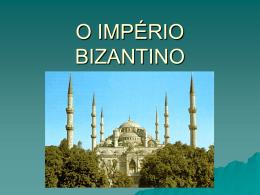 1 – o império bizantino