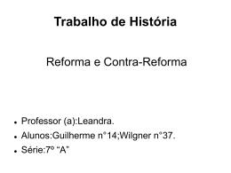 Guilherme e Wilgner 7° ano A Historia