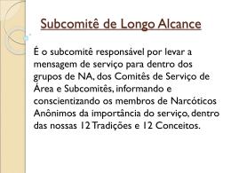 Subcomitê de Longo Alcance
