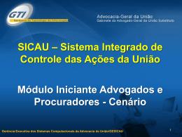 1.0 - Cenário Adv - 2009 - SICAU - Advocacia