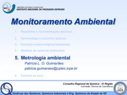04 - Metrologia Ambiental  - Laboratório de Instrumentação
