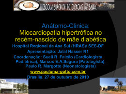 AnátomoClinica:Miocardiopatia hipertrófica