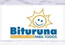 PROJETO MUNICÍPIO DE BITURUNA - PR