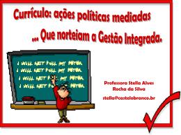 Currículo - Universidade Castelo Branco
