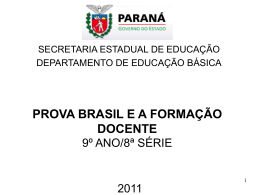 Leitura - escola estadual moreira salles