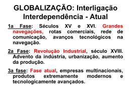globalização aula 2