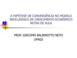 k - Programa de Pós-Graduação em Economia