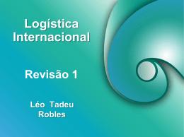 Logística Internacional Revisão 1