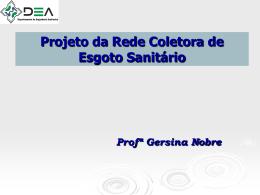 Slide 1 - Departamento de Engenharia Ambiental