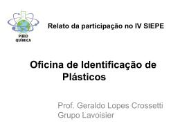 Oficina de identificação plásticos