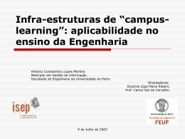 Apresentação - Universidade do Porto