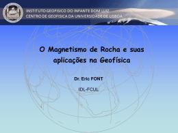 Magnetismo de Rochas aplicado a Geofisica (E. Font)