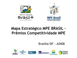 Prêmios Competitividade MPE - Movimento Brasil Competitivo