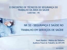 NR 32 - Hospital Pilar