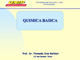 Química Básica - Professor Barbieri