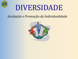 Diversidade - Lions Clubs International