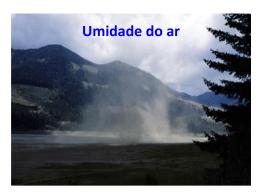 U7 - Umidade do Ar