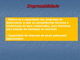 Empregabilidade - Universidade Castelo Branco