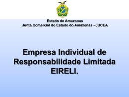 EIRELI - Apresentação - CRC-AM