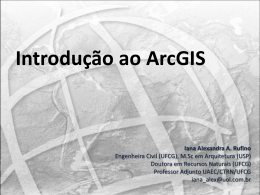 IntroduoaoArcGIS
