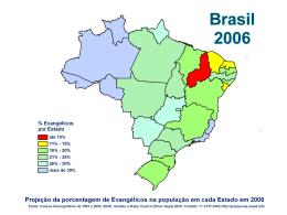 Região Nordeste - Evangeliza Brasil