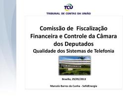 TCU - Câmara dos Deputados
