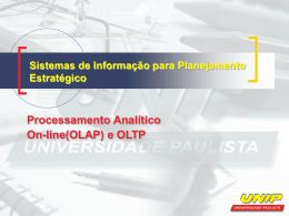 Sistemas de Informação para Planejamento Estratégico