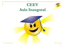 CEEV Aula Inaugural - Seicho-No