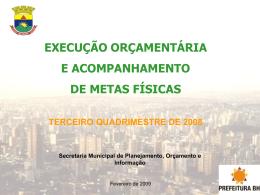 Orçamento Participativo - Câmara Municipal de Belo Horizonte