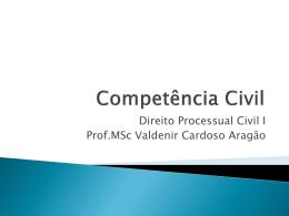 Competência Civil