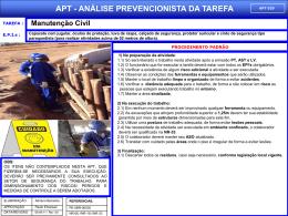 APT 29 - Manutenção Civil
