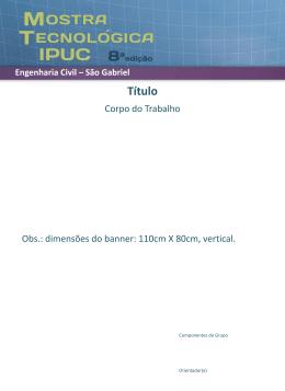 Engenharia Civil - São Gabriel