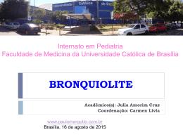 BRONQUIOLITE - Paulo Roberto Margotto