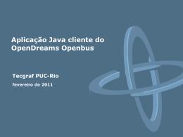 Seminário Tecgraf - Tecgraf JIRA / Confluence - PUC-Rio