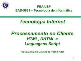 Tecnologia Internet - Erudito FEA-USP